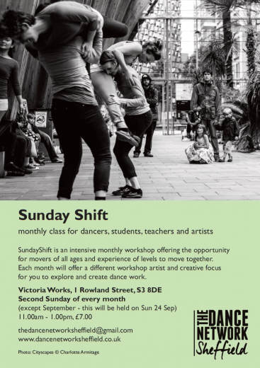 Sunday Shift- Dance Network Sheffield